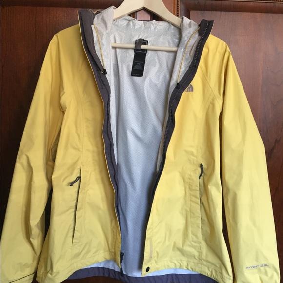 413ccc03e Women's North Face Hyvent 2.5L Rain Jacket: Yellow